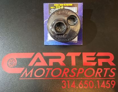 Picture of Billet Oil Filter Relocation Block Adapter